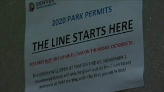 Applications open today for Denver park permits