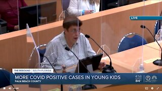 COVID-19 cases increasing among children in Palm Beach County, health director says