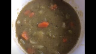Spiced Up Antique Vegetarian Recipe: Split Pea Soup (1911)