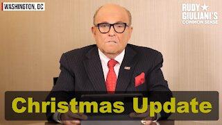 Christmas Update: Rudy Giuliani on ELECTION