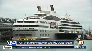 Port of San Diego welcomes cruise season