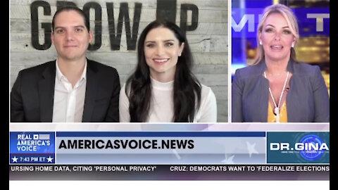 The Starbucks segment on Dr. Gina's Primetime on Real America's Voice
