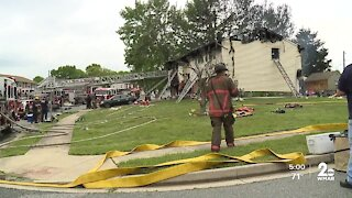 Fire severely damages home in Baltimore County