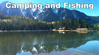 Alpine Lake Camping and Fishing Trip - McFly Angler Episode 20