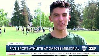 23ABC Sports: Five-sport athlete at Garces Memorial High School
