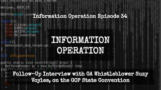 IO Episode 34 - Follow Up Interview with GA Whistleblower Suzy Voyles