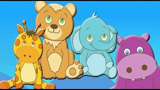 CUTE ANIMALS Finger Family BABY ANIMALS Daddy Finger Song Balloon Nursery Rhymes Cookie Tv Video