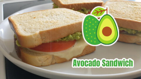 The Mighty Avocado Sandwich (On end-of-the-month type budget)