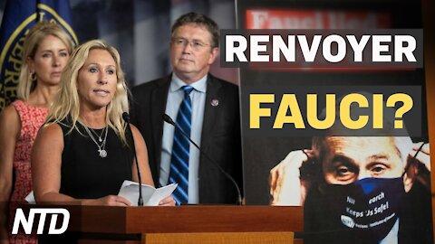 FauciLeaks: Appel à renvoyer Fauci; Journaliste de Fox: Le public est trompé par Fox