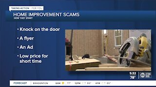 Home improvement scams increase during pandemic