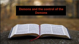 Demons and control of them on Down to Earth but Heavely Minded