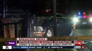Officer-involved shooting in East Bakersfield, suspect in critical condition
