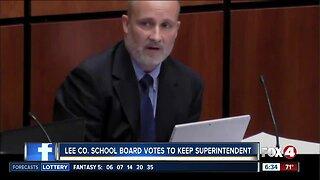 Lee County School Board votes to keep Greg Adkins as Superintendent