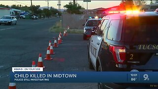 Police: Child killed in apparent accidental shooting in Tucson