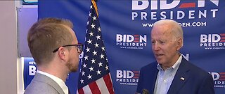 Former Vice President Joe Biden goes one-on-one with 13 Action News ahead of Nevada Caucus