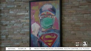 Council Bluffs artist thanks healthcare workers for COVID care