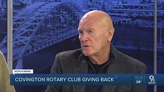 Covington Rotary Club Giving Back