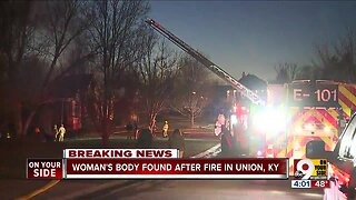 Woman's body found after Union, Ky. fire