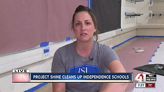 Community gathers to support Project Shine