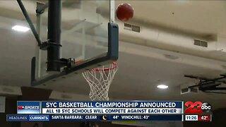 SYC Basketball tournament announced