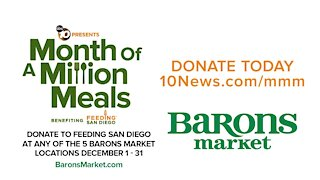 Month of a Million Meals: Barons Market - Simply Good Food. Simply Good Prices.
