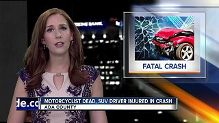 Boise Police investigating fatal motorcycle versus SUV crash