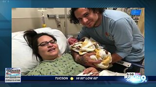 First baby born at new Banner UMC facility