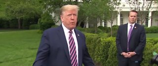 President Trump urges supreme court to overturn ACA