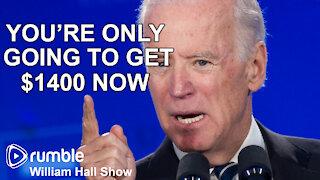 Biden LIES About Stimulus Checks