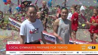 Local gymnasts prepare for Tokyo