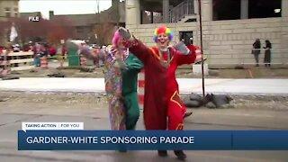 Gardner-White President Rachel Stewart joins 7 Action News ahead of Thanksgiving parade