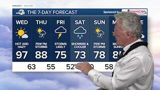 Tuesday, June 22 evening forecast