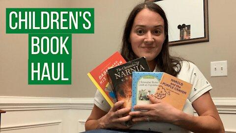 Inexpensive Classic Children's Books Haul!