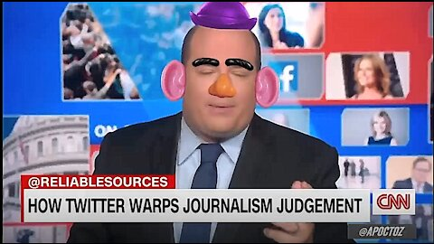 A Day or Two in the Life of Mr Potato Head - Brian Stelter