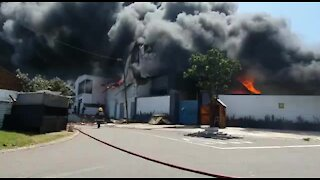 LOOK: Three injured in Jacobs factory fire (Dwo)