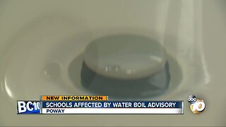 PUSD sends parents plan after water boil advisory issued