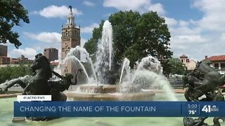 Push to rename J.C. Nichols Fountain, Parkway gains traction