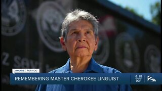 Remembering master Cherokee linguist