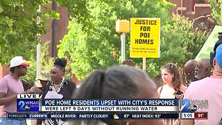Poe home residents upset with city's response
