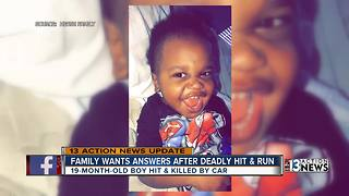 Family still searching for answers after toddler killed in hit-and-run crash
