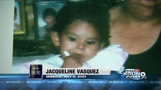 Missing infant's family still holds out hope, 17 years later