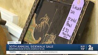 30th annual Sidewalk Sale