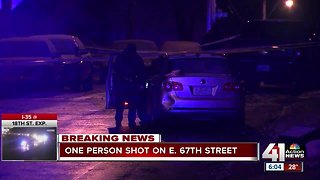 Police investigating early morning shooting that left 1 with minor injuries