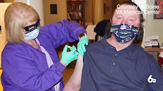 Boise VA Vaccinating Veterans