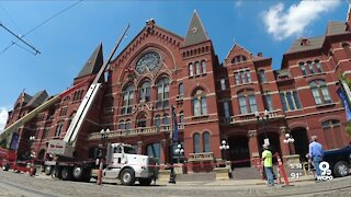 Music Hall's roof will be 'naked' no more after latest restorations