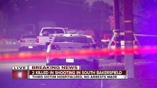 KCSO: 2 killed in shooting in South Bakersfield