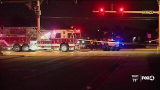 Serious motorcycle crash on Santa Barbara