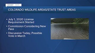 Colorado Parks & Wildlife Commission considering new pass