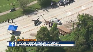 4 dead after crash in Lakeland