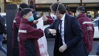 Doctors And Supplies From China Arrive In Italy To Help